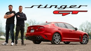 2022 Kia Stinger GT Quick Review // New Badge, Who Dis?