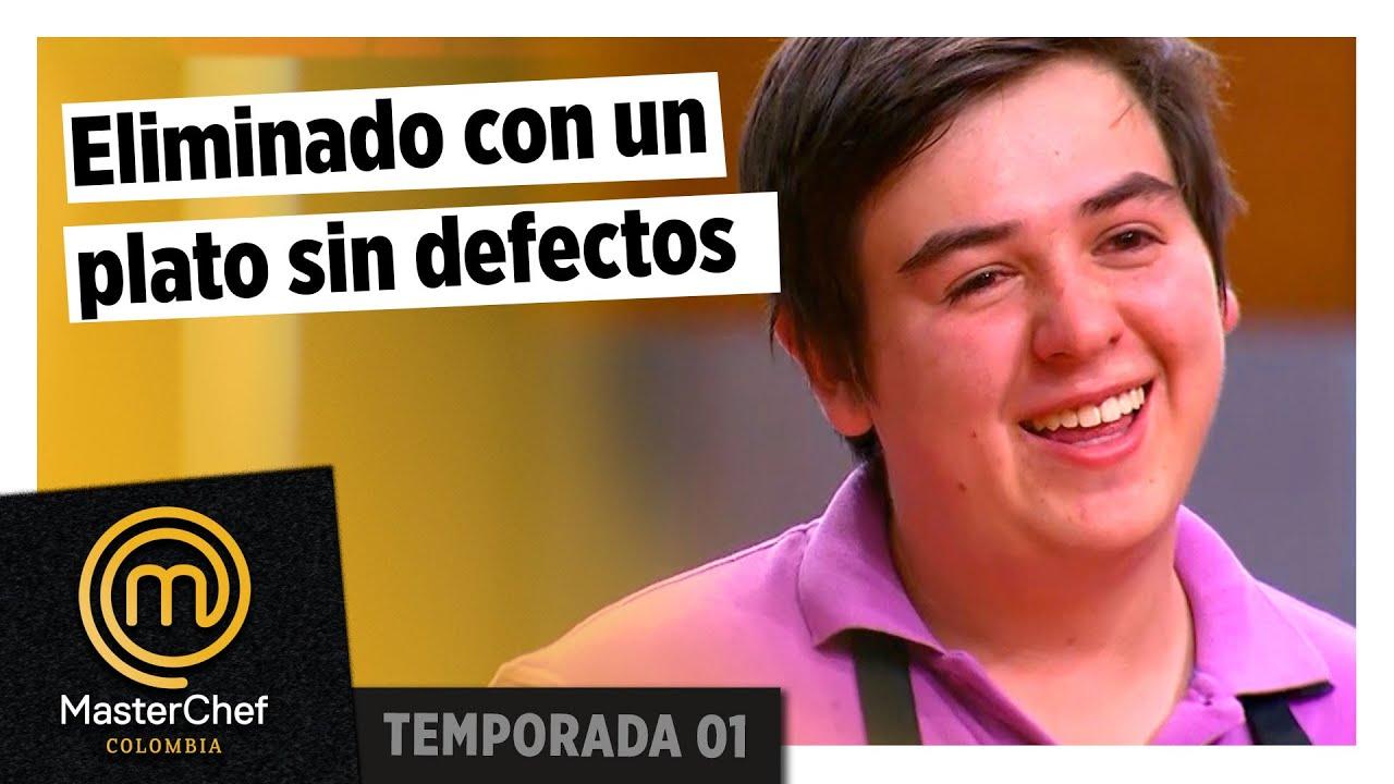Fue eliminado con un plato casi perfecto | ELIMINACIÓN | TEMPORADA 1 | MASTERCHEF COLOMBIA