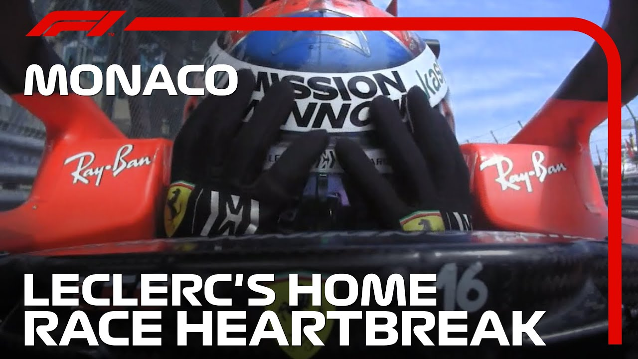 Download Charles Leclerc's Home Race Heartbreak   2021 Monaco Grand Prix