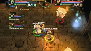Online gaming - Dark Queen final boss in Dungeon Hunter Alliance HERO