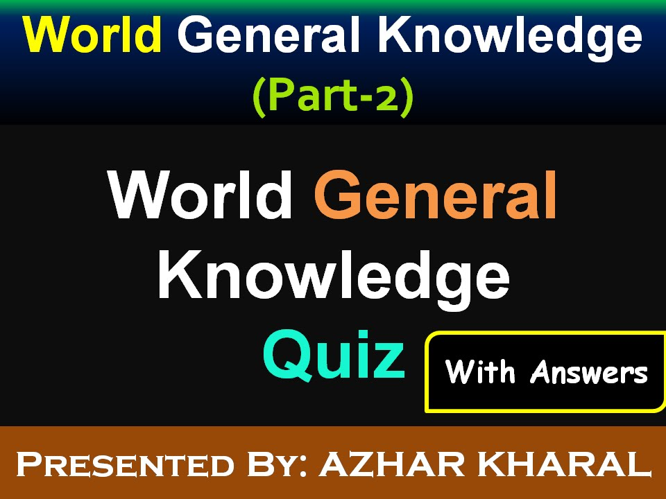 general knowledge on exams General knowledge questions for online practice here are the most frequently asked general knowledge (gk) questions for your practice for upsc exams, state psc exams, entrance exams, bank exams, neet exam (national eligibility and entrance test) or any other competitive exams and job placement interviews.