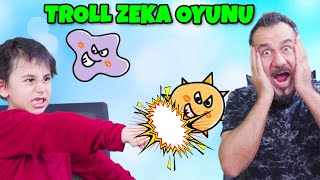 TROLL ZEKA TESTİ! VİRÜSÜ YENME OYUNU! | MOBİL BRAIN OUT OYNUYORUZ