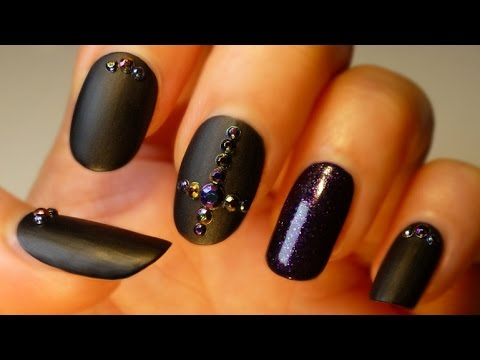 Luxury Gothic Nail Art