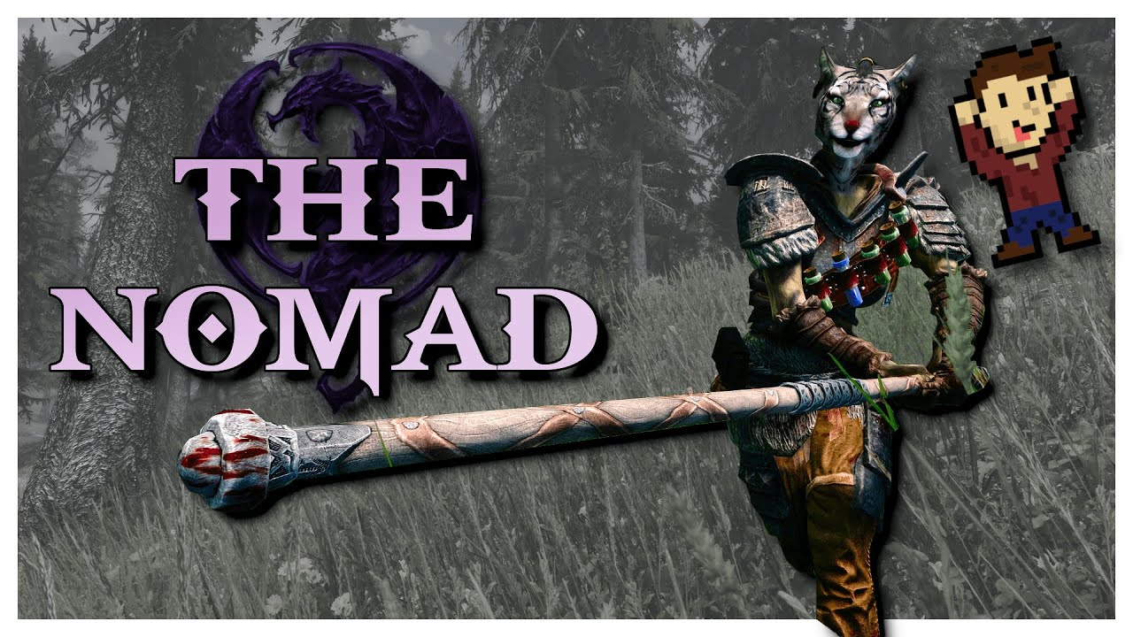 The Nomad 2019 Skyrim Modded Character Build Youtube