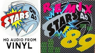 Gambar cover STARS ON 45   - STARTS ON '89 REMIX (ZYX RECORDS) 1989