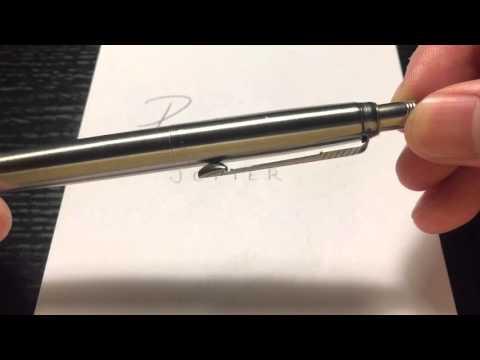 Parker Jotter Pen And Pencil