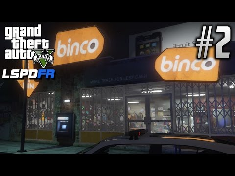 GTA 5: LSPDFR - EP2 - BINCO CLOTHING ARMED ROBBERY