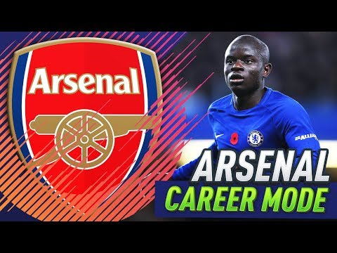 BUYING KANTE FOR $105 MILLION!?! FIFA 18 ARSENAL CAREER MODE #24