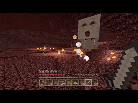 Minecraft Xbox - Quest To Kill The Ender Dragon - Blazing Through The Nether - Part 18