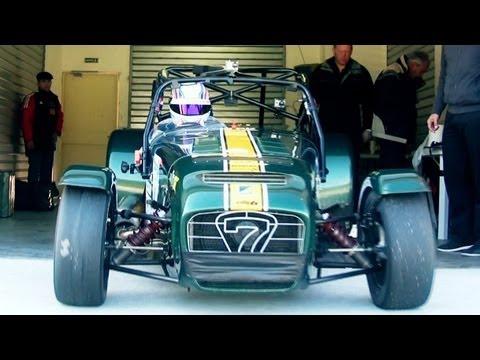 Caterham R600 Tarmac Rally Extreme Youtube