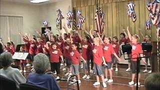 Topeka Children's Show Choir Summer Camp, part 3