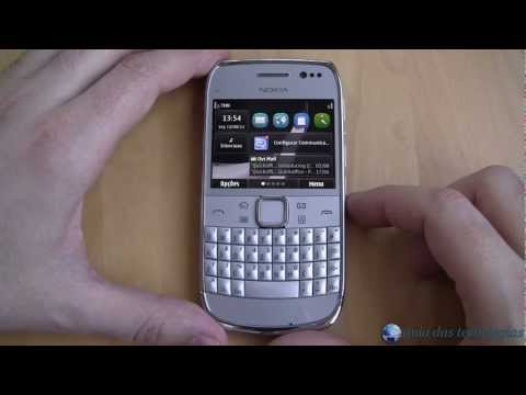Nokia E6-00: Interface (Symbian Anna)