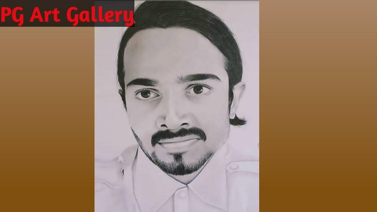 BB ki vines// Bhuvan Bam (masterji)pencil sketch. - YouTube