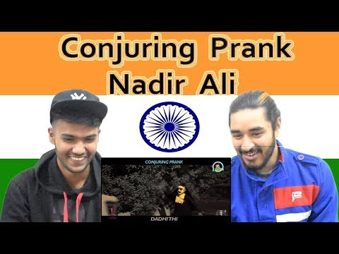 Indian reaction on Conjuring Prank   Ahmed Khan   Nadir ALi   P4 Pakao   Swaggy d