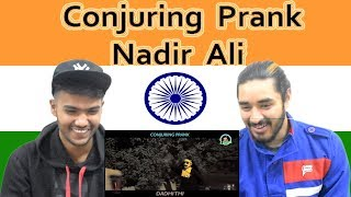 Indian reaction on Conjuring Prank | Ahmed Khan | Nadir ALi | P4 Pakao | Swaggy d