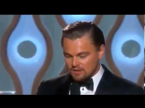 Leonardo DiCaprio Acceptance Speech Golden Globe Awards 2014