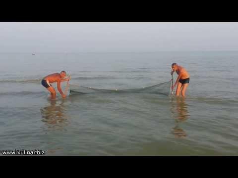 рыбалка сетями в черном море