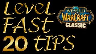 How To Level Faṡter In Classic Vanilla WoW - 20 Tips!