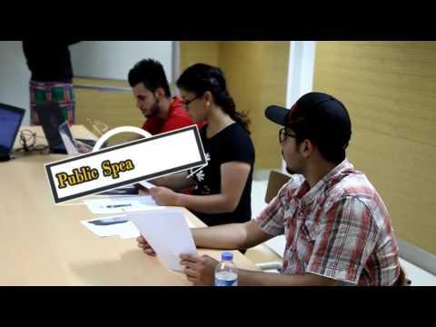 Public academic speaking club- AUIS students