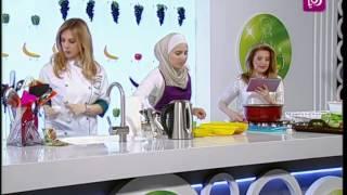 ديما حجاوي وهيا ابزاخ تحضران الدجاج الحار مع البطاطا الحلوة