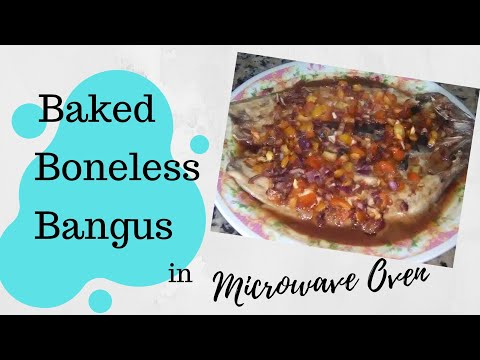 Baked Bangus In Oven