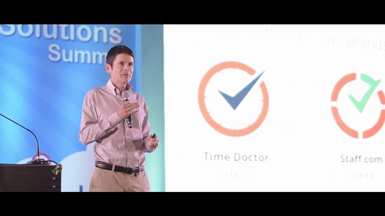 Rob Rawson at the Microsoft CLOUDSolutions Summit 2016