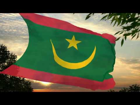 Flag and anthem of Mauritania