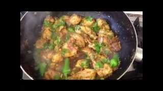This is how to make spicy chicken Karahi.