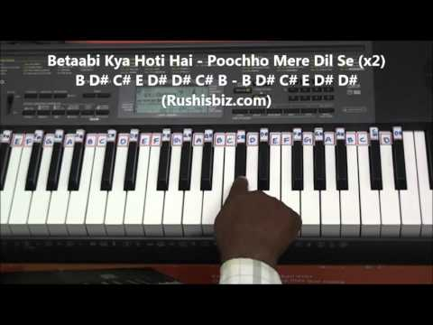 Nazar Ke Saamne Piano Tutorials - Aashqui(old)