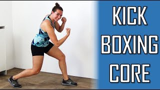 10 Minute Kickboxing Core Workout – Calorie Burning And Abs Strenghtening – No Equipment