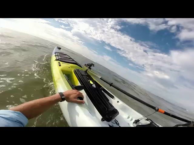 Jackson Kayak Kraken 15.5, Surf Launch! Destin Florida