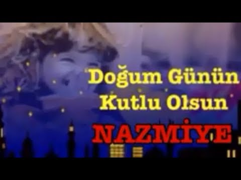 NAZMİYE İyi ki Doğdun :) 3.KOMİK DOĞUM GÜNÜ VİDEOSU Made in Turkey :) 🎂 *ABİDİN KUKLA*