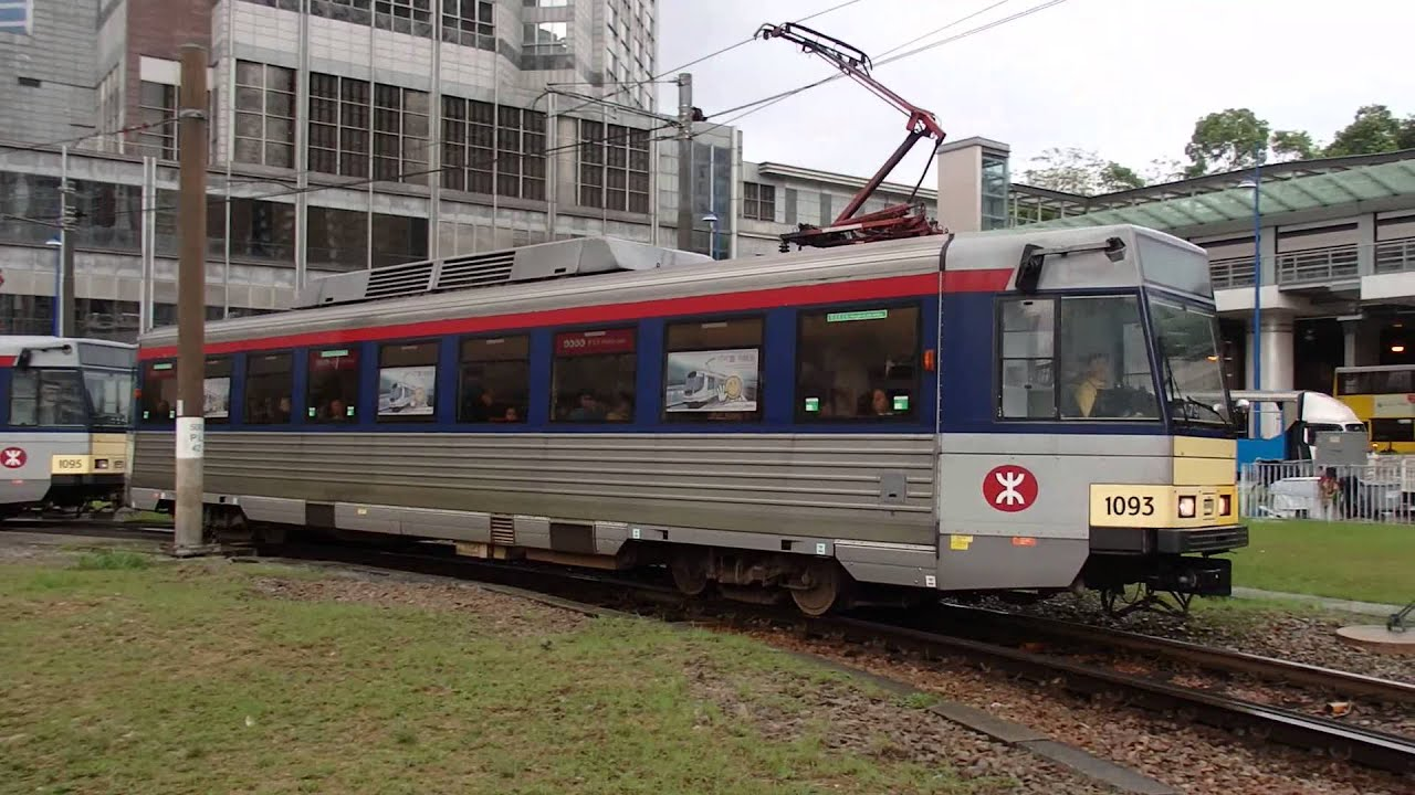香港輕鐵751綫天榮站 Hong Kong Light Rail route 751 - YouTube