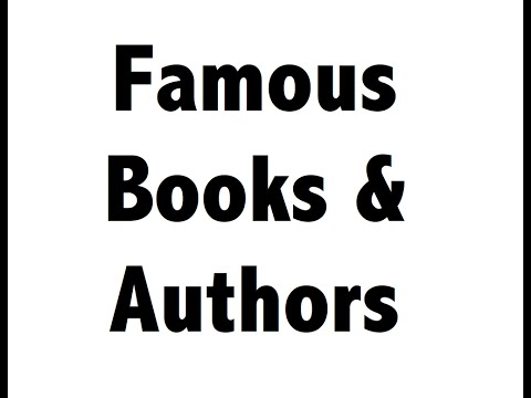 Famous Books & Authors part 2 - Static GK