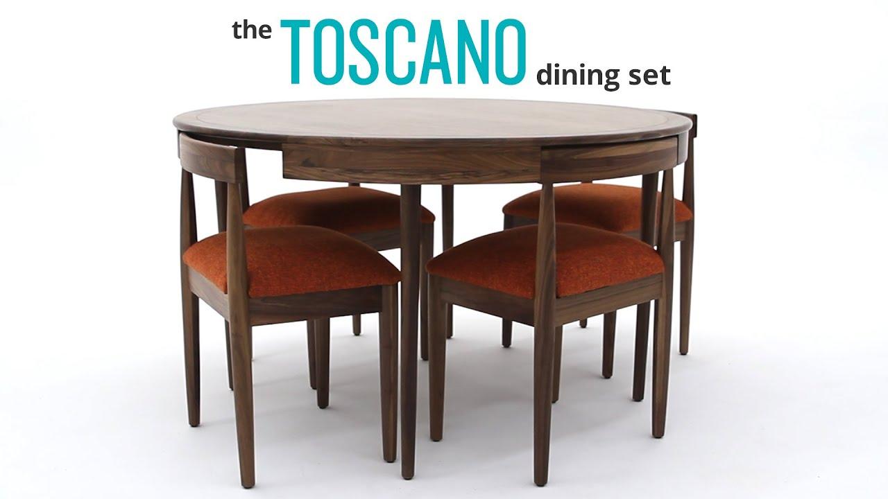 Toscano Dining Set By Joybird Furniture Youtube