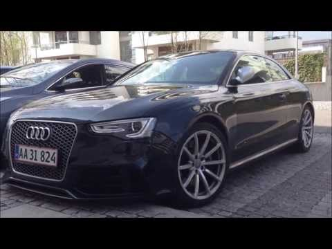 Cars in Copenhagen - RS5, RS6, Targa 4S and more!!