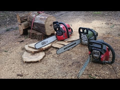 Batalia Drujbelor: Partner vs Heinner vs Zenoah (Chainsaw battle)