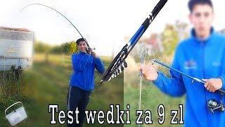 Hardkorowy test wędki za 9 zł
