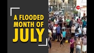 Flood hits across India in the month of July