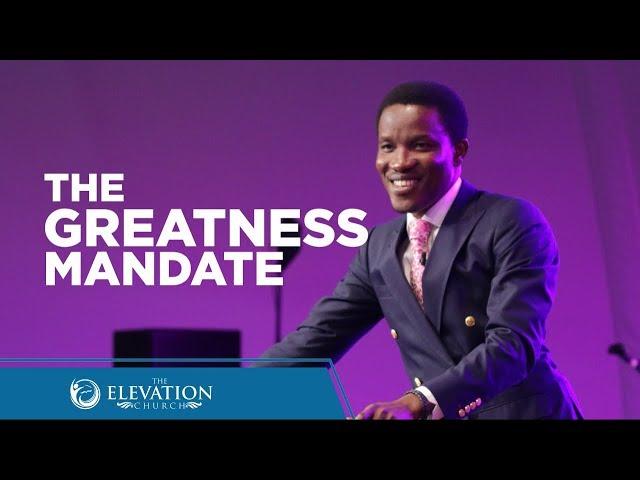 The Greatness Mandate (Must Watch) | Pastor Godman Akinlabi