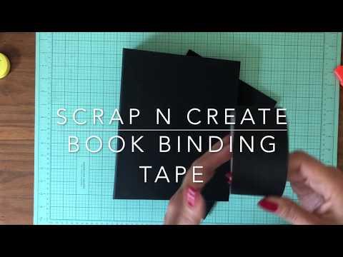 Book Binding Tape Tutorial