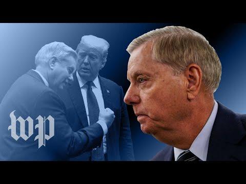 Lindsey Graham's ever-changing tone toward Trump