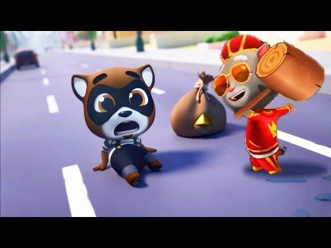 Том за золотом #18 – Король ТОМ против Енота.  игровой мультик для детей. Tom And Angela Kids Games!