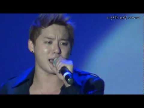 [HD] JYJ in Barcelona - Kim Junsu (You Are So Beautiful)