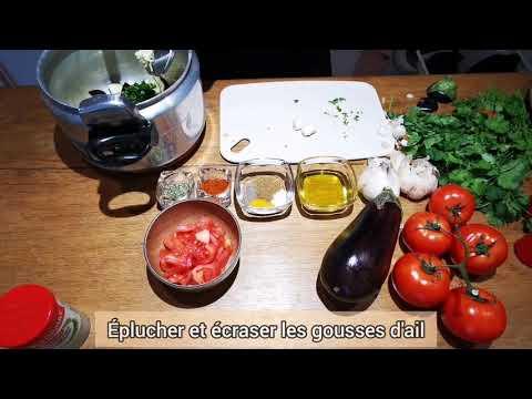 الزعلوك-المغربي-طريقة-سهلة-و-ناجحة-100%-meilleure-recette-zaalouk-marocain-ou-caviar-d'aubergine-!