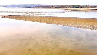 The Arnside Tidal Bore Morecambe Bay 22 Feb 2019. An Understated Showing Of Nature's Raw Power.