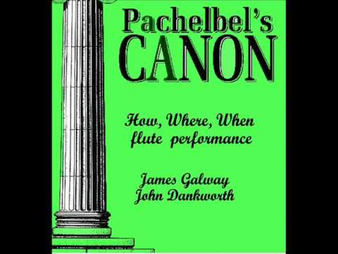 Pachelbel Canon: James Galway e John Dankworth,  Cleo laine.- Flute -