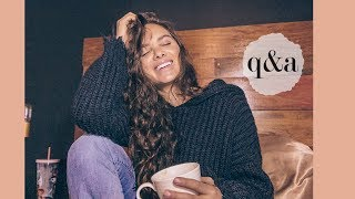 answering your questions | curly hair advice, cutting my hair, & how to be confident