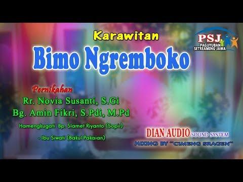 Live KARAWITAN BIMO NGREMBOKO BUDOYO// JMS SHOOTING// DIAN SOUNDSYSTEM