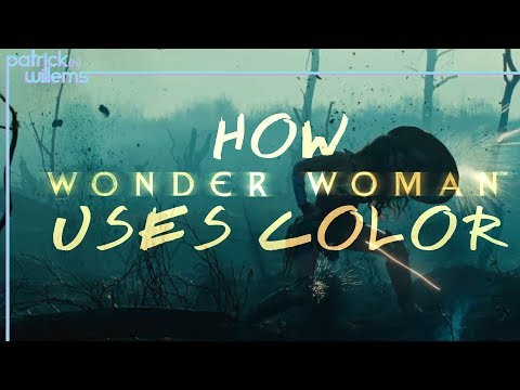 How Wonder Woman Uses Color